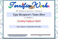 Employee Recognition Certificates Templates Free 1 pertaining to Printable Certificate Of Employment Templates Free 9 Designs