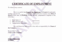 Employment Verification Letter For Visa Inspirational throughout Awesome Certificate Of Acceptance Template