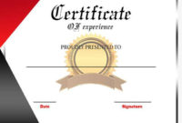 Experience Certificate For Teacher  Format Sample  Example regarding Printable Template Of Experience Certificate