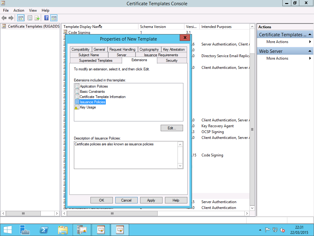 Extended Validation Ev With An Internal Certificate within Awesome Validation Certificate Template