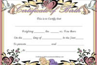 Fake Baby Birth Certificate  Yahoo Image Search Results throughout Birth Certificate Fake Template