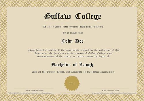 Fake Diploma Certificate Free Download  Planner Template Free for Amazing Fake Diploma Certificate Template