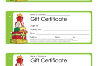 Fillable Christmas Gift Certificate Template Printable Pdf with regard to Printable Christmas Gift Certificate Template Free Download