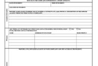 Fillable Register Of Injuries Logbook  Edit Online Print inside Aircraft Flight Log Template