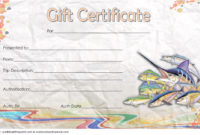 Fishing Gift Certificate Editable Templates 7 Latest pertaining to Awesome Travel Certificates 10 Template Designs 2019 Free