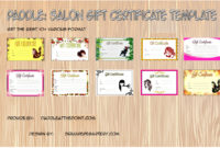 Fishing Gift Certificate Template  7 Inspirational Designs in Quality Fishing Gift Certificate Template