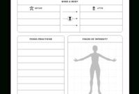 Fit And Healthy  Manuscript Templates  Kdp Templates inside Agenda Template For Training Session