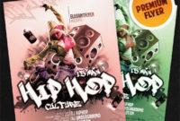 Flyer For Hip Hop Culture Elegantflyer within Hip Hop Dance Certificate Templates