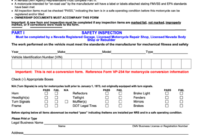 Form Vp64M  Certificate Of Inspection / Affidavit Of inside Printable Certificate Of Inspection Template