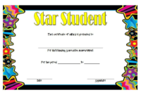 Free 10 Super Star Student Certificate Templates within Star Certificate Templates Free