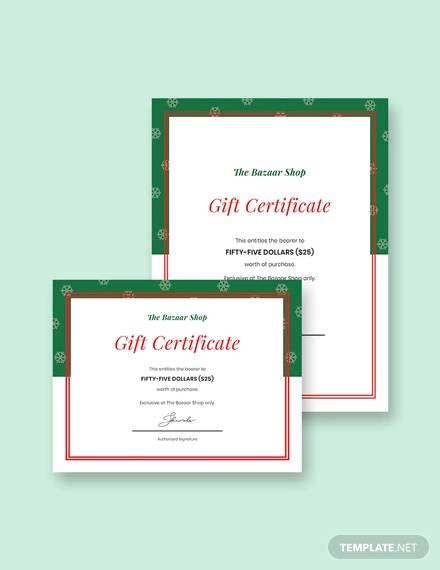 Free 11 Gift Certificate Templates In Ai  Indesign  Ms within Gift Certificate Template Publisher