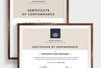 Free 15 Sample Conformity Certificate Templates In Pdf pertaining to Certificate Of Conformance Template