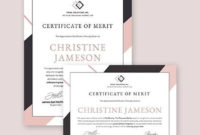 Free 15 Sample Merit Certificate Templates In Pdf  Ms throughout Printable Employee Anniversary Certificate Template