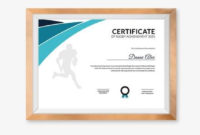 Free 18 Certificate Of Achievement Templates In Ai intended for Quality Rugby Certificate Template