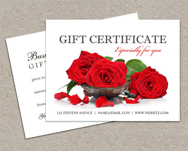 Free 19 Gift Certificate Examples In Psd  Word  Ai intended for Best Valentine Gift Certificate Template