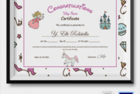 Free 19 Sample Congratulations Certificate Templates In inside Quality Congratulations Certificate Templates