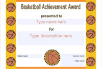Free 20 Sample Basketball Certificate Templates In Pdf pertaining to Mvp Award Certificate Templates Free Download