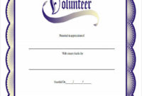 Free 32 Award Certificates In Pdf  Ms Word with regard to Best Volunteer Certificate Templates