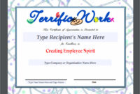 Free 34 Sample Certificate Of Appreciation Templates In throughout Amazing Sample Certificate Of Recognition Template