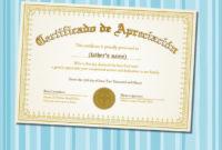 Free 34 Sample Certificate Of Appreciation Templates In within Amazing Sample Certificate Of Recognition Template