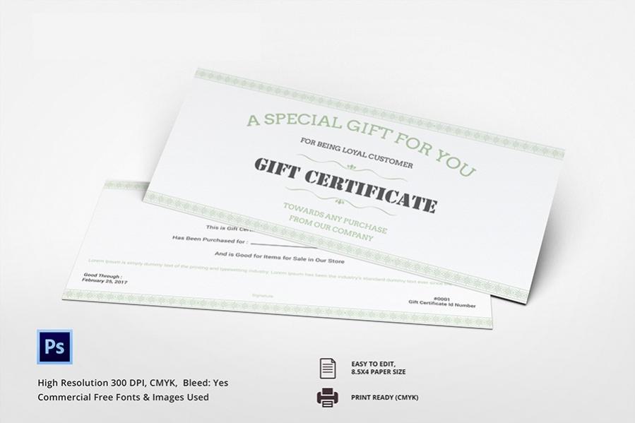 Free 7 Gift Certificate Ideas  Spa Restaurant Travel throughout Travel Gift Certificate Templates