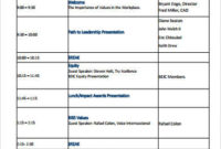 Free 8 Sample Staff Meeting Agenda Templates In Pdf with Awesome Agenda For A Meeting Template