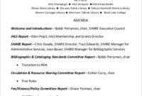 Free 9 Annual Agenda Samples In Pdf with regard to School Board Meeting Agenda Template