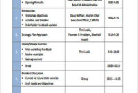 Free 9 Workshop Agenda Samples In Pdf with Agenda Template For Presentation
