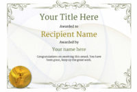 Free Athletic Running Certificate Templates Inc Printable throughout Awesome Athletic Certificate Template