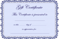 Free Babysitting Gift Coupon Templates  Qualads intended for Best Babysitting Certificate Template