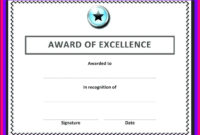 Free Blank Certificate Templates For Word In 2020 With regarding Best Free Printable Blank Award Certificate Templates