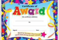 Free Certificates For Kids  Certificate Templates pertaining to Awesome 10 Kindergarten Diploma Certificate Templates Free