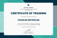 Free Company Training Certificate Template In Psd Ms Word within Printable Robotics Certificate Template Free