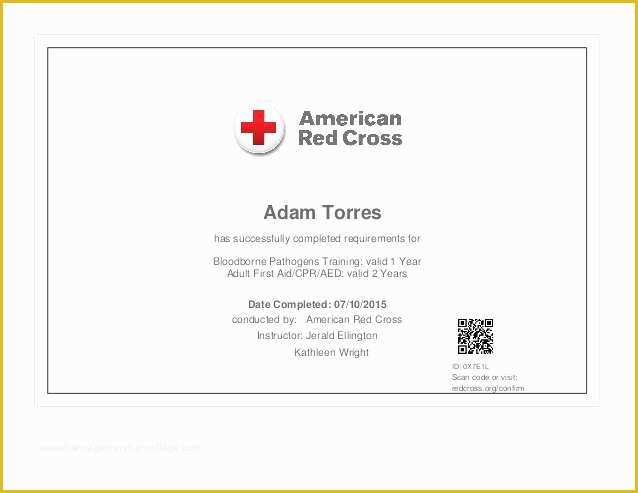 Free Cpr Card Template Of Bls Cpr Card Template Five Quick for Awesome Crossing The Line Certificate Template