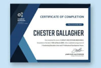 Free Dealership Completion Certificate Template  Word throughout Amazing Share Certificate Template Companies House