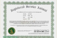 Free Download 53 Animal Templates Professional  Download for Dog Obedience Certificate Template