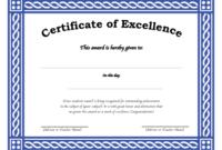 Free Editable Award Or Certificate Template in Social Studies Certificate Templates
