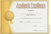 Free Editable Certificate Of Excellence  Free 34 Sample pertaining to Amazing Certificate Of Excellence Template Free Download