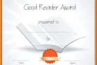 Free Editable Reading Certificate Templates  Instant Download within Reading Achievement Certificate Templates