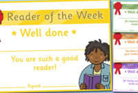 Free  Editable Reading Certificates For Children with Reading Certificate Template Free