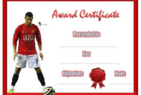Free Editable Soccer Certificates  Customize Online intended for Soccer Certificate Template Free