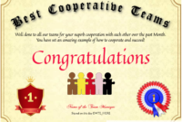 Free Employee Certificates At Clevercertificates Team with regard to Employee Certificate Template Free 10 Best Designs