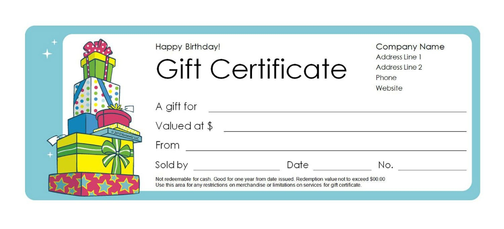 Free Gift Certificate Templates You Can Customize Inside inside Mock Certificate Template
