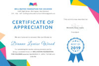 Free Graduation Appreciation Certificate Template In Adobe with regard to Printable Recognition Certificate Editable