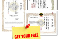 Free Martial Arts Certificates Download  Samtopp pertaining to Best Karate Certificate Template
