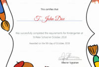 Free Preschool Certificate Templates Lovely Pre K within Awesome Pre Kindergarten Diplomas Templates Printable Free