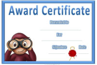 Free Printable Award Certificate Template  Bing Images in Quality 9 Math Achievement Certificate Template Ideas