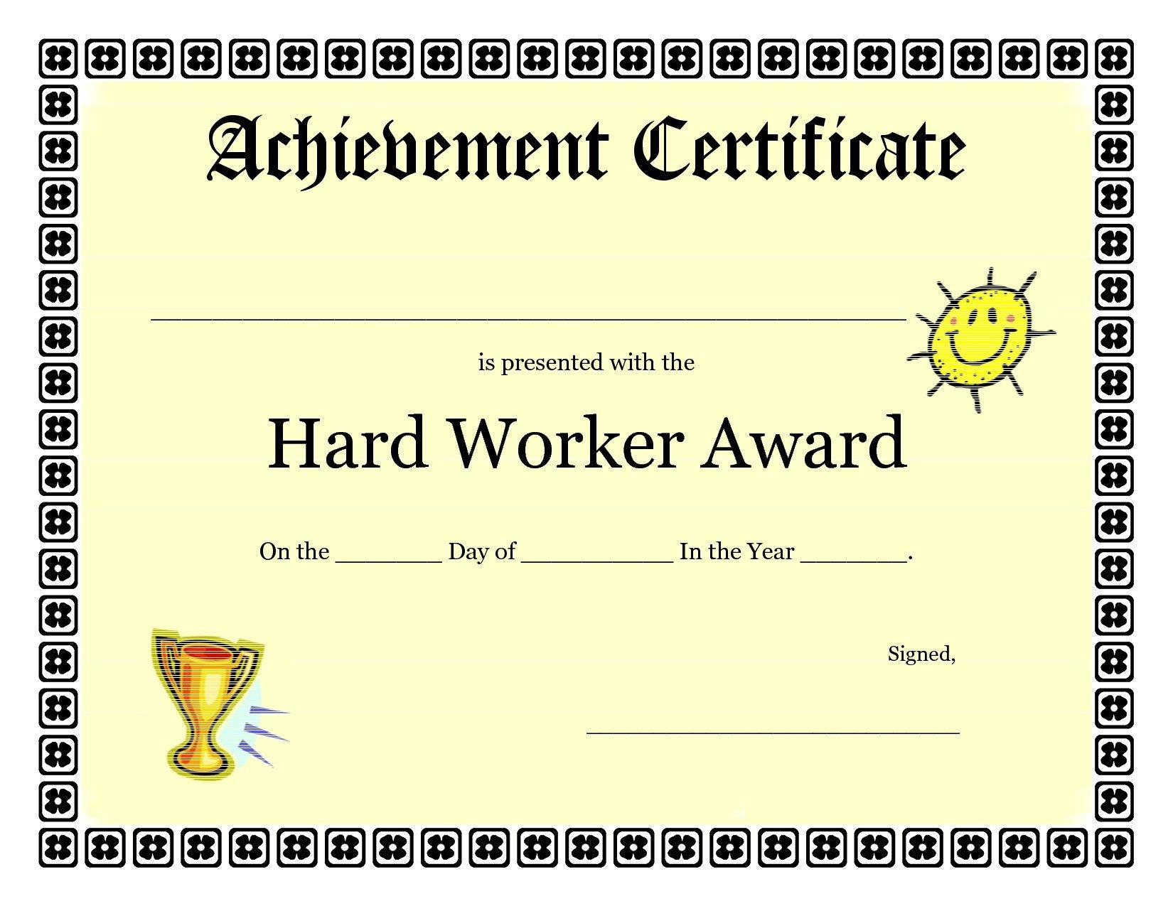 Free Printable Award Certificates For Elementary Students regarding Scholarship Certificate Template