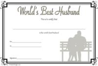 Free Printable Best Husband Certificate 7 Graceful Designs within Best Boyfriend Certificate Template