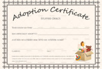 Free Printable Blank Baby Birth Certificates Templates with regard to Quality Puppy Birth Certificate Free Printable 8 Ideas